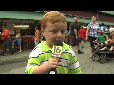 """""""Apparently"""" This Kid is Awesome, Steals the Show During Interview"""