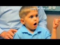 Deaf Boy Hears Father's Voice For the First Time