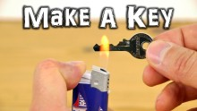 How to make an emergency spare key