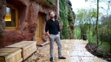 Man Builds A $230,000 House In 700-Year-Old Cave