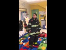NYC firefighter proposes to NYC teacher