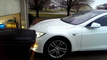 Park your Tesla without even being inside the car