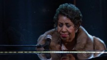 Watch 73 year old Aretha Franklin performs You Make Me Feel Like A Natural Woman at the Kennedy Center Honors 2015