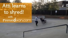 Dad Helped His Son With Cerebral Palsy Shred It Up At A Skate Park