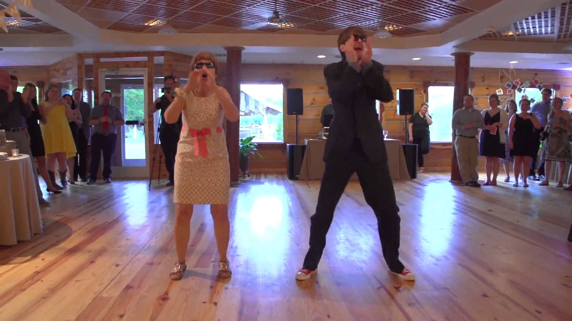 Mother And Son Perform Epic Wedding Dance Smile Positive