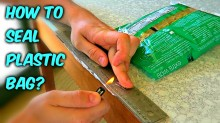 How to Reseal a Plastic Bag