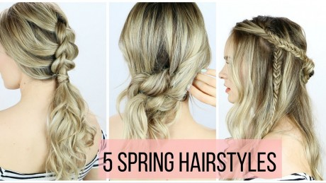 5 Hairstyles for Spring You Can Create in Minutes
