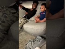 Baby Has A Full Conversation With His Daddy
