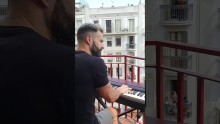 "During Coronavirus Lockdown in Spain, Neighbors Perform ""My Heart Will Go On"" from their Balconies for All to Hear"