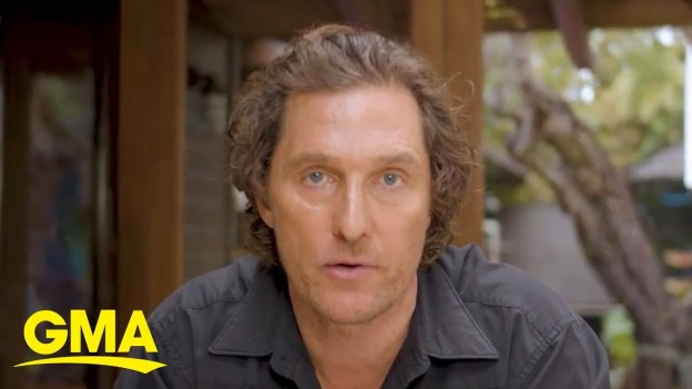 Matthew McConaughey shares message of hope amid coronavirus pandemic